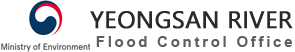 Youngsan River Flood Control Office logo
